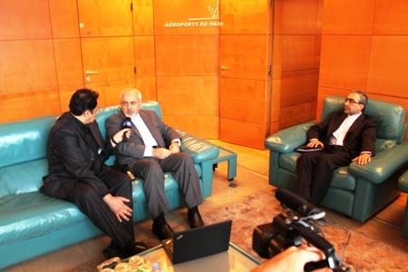 وزیر امور خارجه ایران وارد پاریس شد