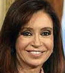 کریستینا کرچنر رییس جمهوری آرژانتین