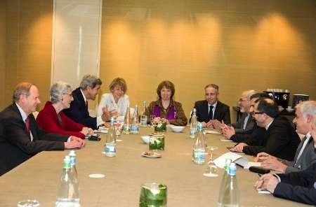 دور سوم مذاکرات سه جانبه ظریف، کری و اشتون برگزار شد