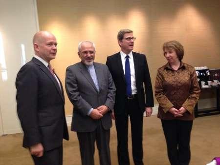 جلسه وزیران خارجه ایران، انگلیس و آلمان با کاترین اشتون