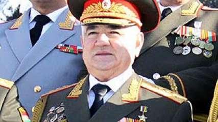 وزیر دفاع تاجیکستان بعد از ۱۸ سال برکنار شد