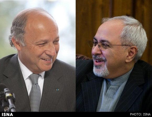 دیدار وزرای خارجه ایران و فرانسه؛ تاکید بر حل مسأله هستهای