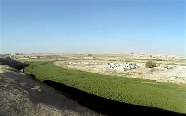 محل احتمالی باغهای معلق بابل