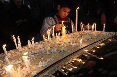 آشنایی با آئین شمع گردانی - اردبیل