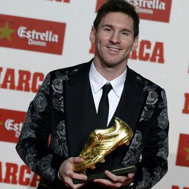 سومین کفش طلایی، رکورد جدید لیونل مسی