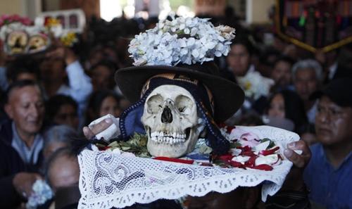 فستیوال جمجمهها در بولیوی