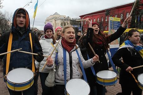 Ukraine Students Strike