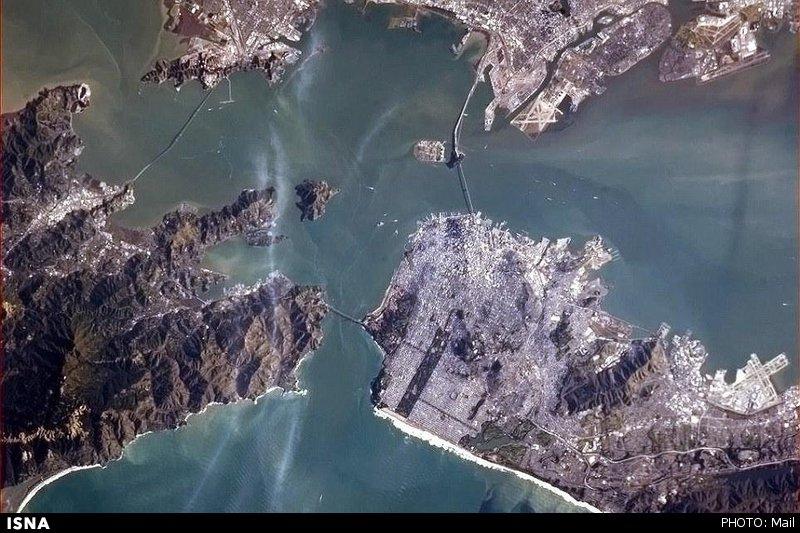 دشت کویر ایران در تصاویر مهیج فضایی ۲۰۱۳