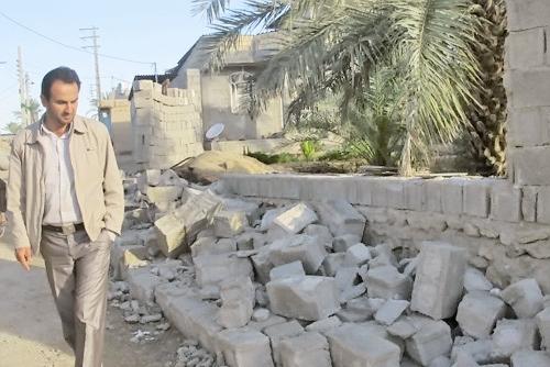 زلزله - دشتستان