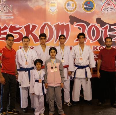 تیم کاراته پایتخت
