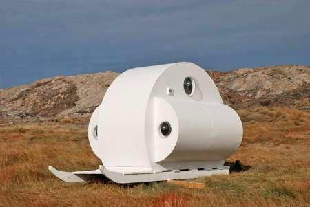 طراحی خانههای هابیتی برای جزیره گرینلند