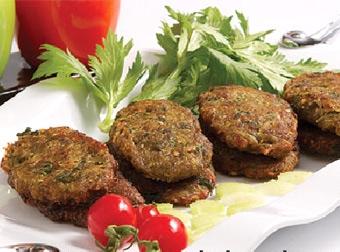 آشنایی با روش تهیه کتلت گوشت و بادنجان