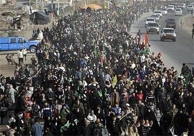 حضور میلیونی زائران خارجی در مراسم اربعین حسینی کربلا