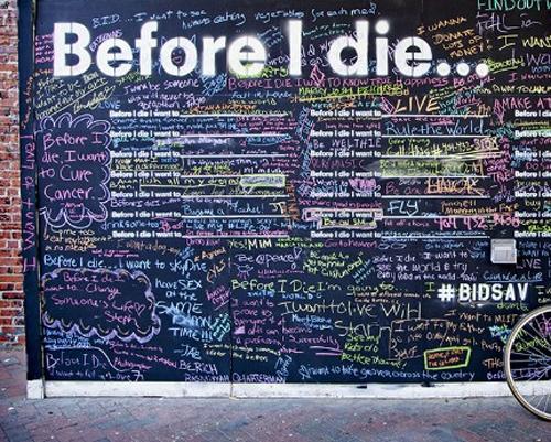 پیش از آنکه بمیرم...
