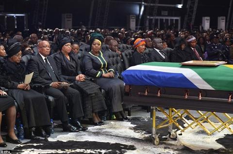 نلسون ماندلا,آفریقای جنوبی,آفریقا