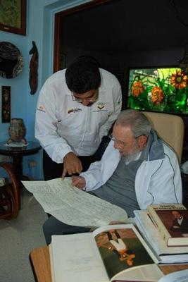 دیدار مادورو با فیدل کاسترو