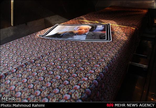 تصاویر مراسم تشییع پیکر مرحوم دکتر کاظم معتمدنژاد