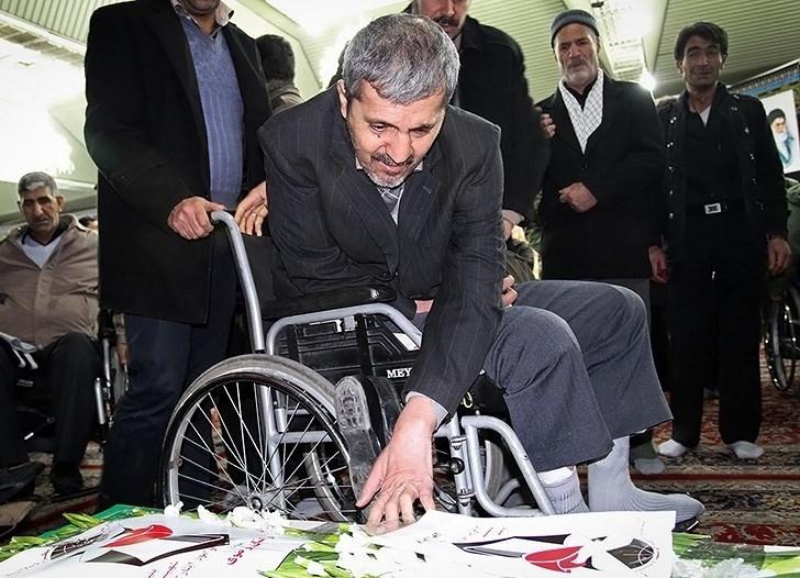 تصاویر تشییع پیکر شهید محمود سرابقوچانی جانباز ۷۰ در صد