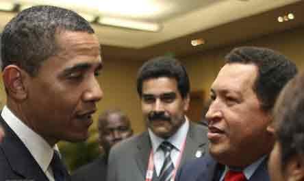 چاوز اوباما