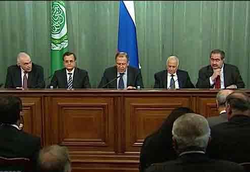 لاوروف اتحادیه عرب