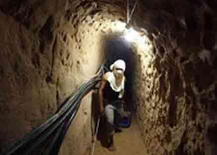 عزم مصر در انهدام تونلهای امداد رسانی به غزه