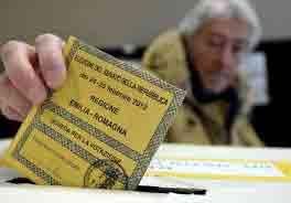 ایتالیا انتخابات