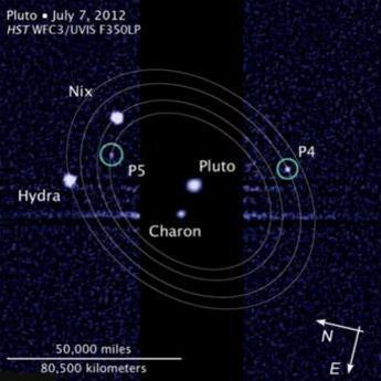 کوچکترین قمرهای پلوتو نامدار شدند