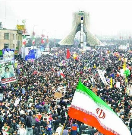 مسیرهای دهگانه راهپیمایی 22 بهمن