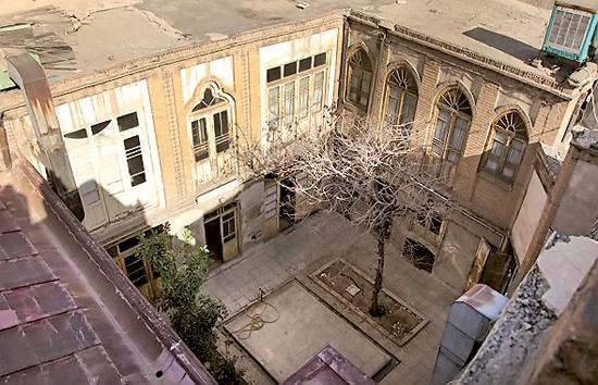 خانه پدری جلال آل احمد در محله گذرقلی بازار تهران