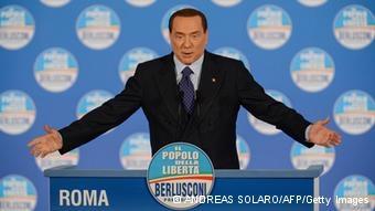 اروپا نگران انتخاب مجدد برلوسکونی در انتخابات ایتالیاست