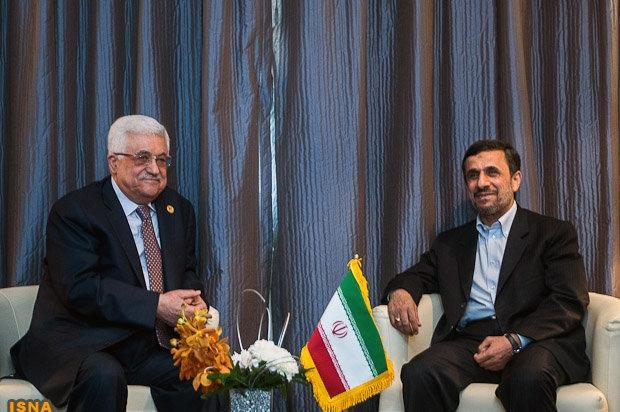 ااحمدی نژاد: حمایت از حقوق فلسطین راهبرد همیشگی ایران است