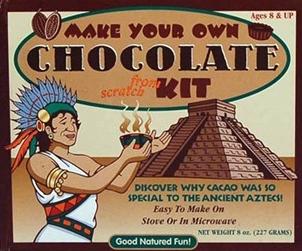 تاریخچه شکلات