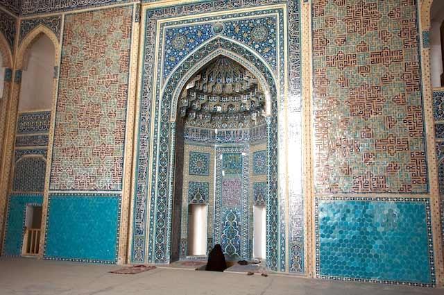 آشنایی با مسجد جامع یزد