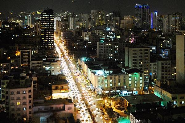 عکس شهر تهران