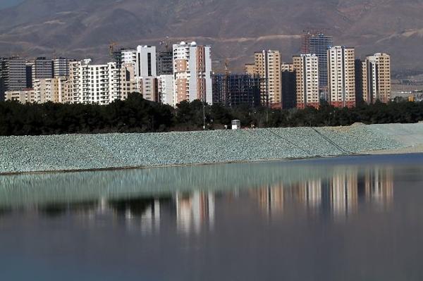 تصاویری از دریاچه مصنوعی چیتگر