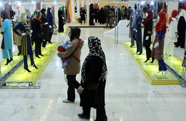 تصاویر همشهری آنلاین از جشنواره بینالمللی مد و لباس