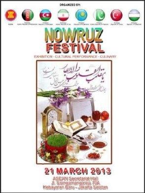 جشنواره نوروز 92 در جاکارتا برگزار میشود