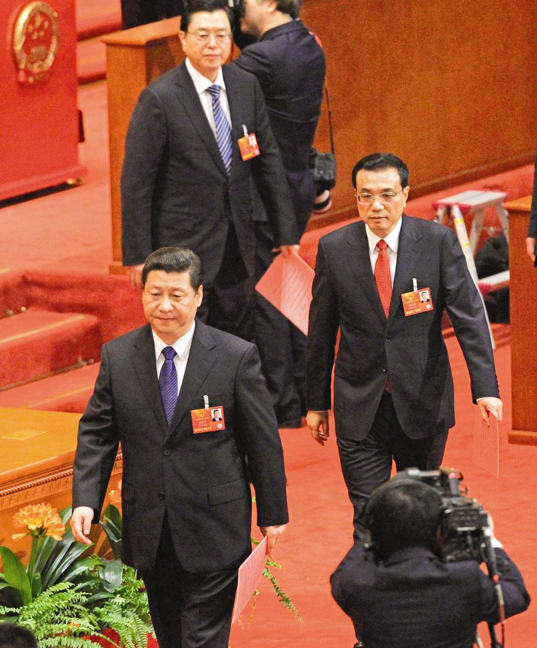 رهبران جدید چین