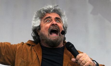 بپه گریلو رهبر جنبش پنج ستاره ایتالیا