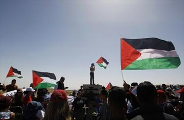 تظاهرات فلسطینی ها در روز زمین