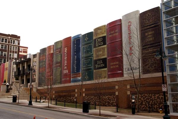 آشنایی با کتابخانه عمومی کانزاس - آمریکا