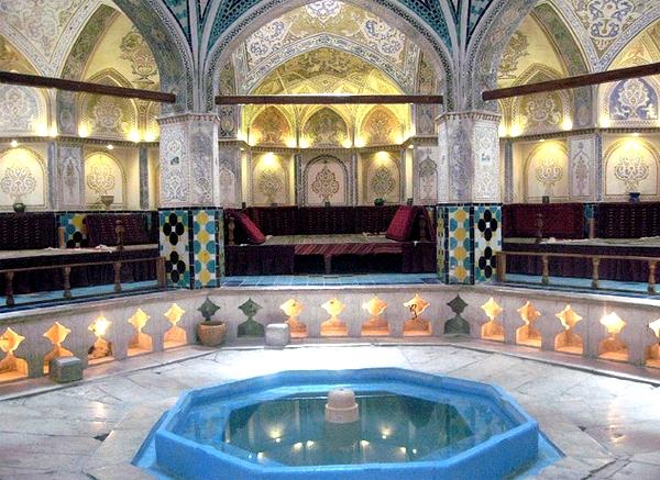 آشنایی با حمام سلطان امیر احمد - اصفهان