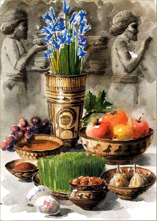 عیدی دادن در روزگار باستان