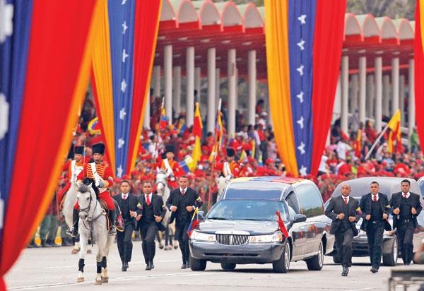 خاکسپاری چاوز