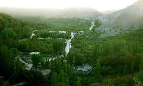 آشنایی با روستای درکش - خراسان شمالی