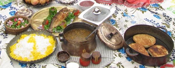 غذاهای خوشمزه چهارگوشه ایران