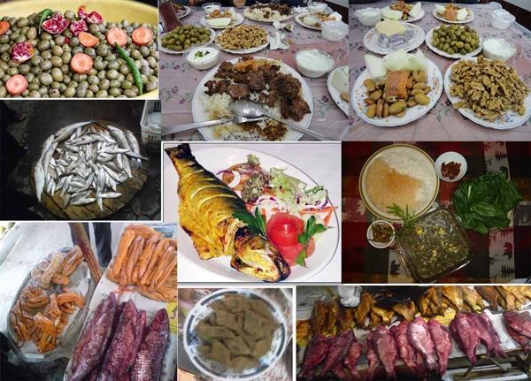 غذاها و شیرینیهای سنتی