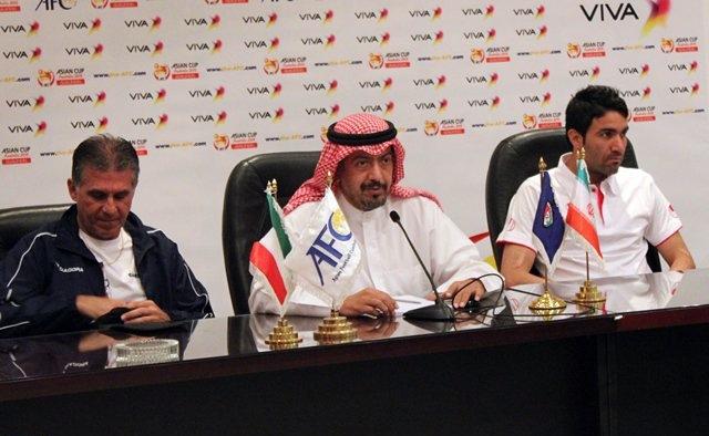 نکونام: با انگیزهای که برابر لبنان داشتیم به کویت آمدیم