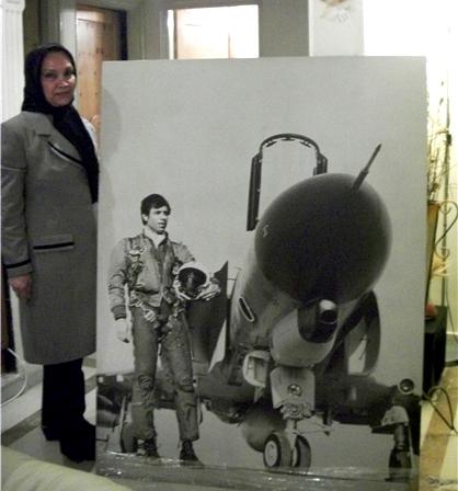 نخستین خلبان شهید در عملیات برونمرزی دفاع مقدس