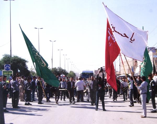 تصاویر نصب ضریح جدید امام حسین (ع) - 1